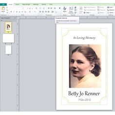 a free to download funeral program template microsoft word in doc