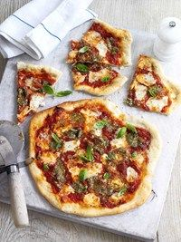 Simple supper: Pizza with a healthy twist