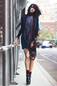 Downtown Chic Fashion Shoot- Fall 2014 Luxe Fashion - Elle#slide-1#slide-4