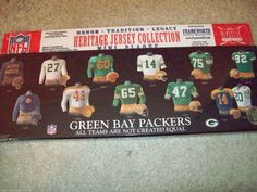 Green Bay Packers Heritage Jersey Collection plaque