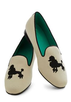I WANT I WANT I WANT    What Will They Say Flat by Seychelles - Cream, Black, Print with Animals, Trim, Quirky, Low, Casual