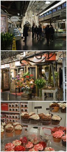 Chelsea Market in  NY
