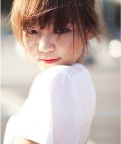Yi Som, South Korean model and actress...adorable baby-face!