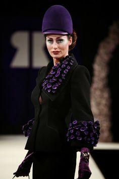 HeartFelt Silks Blog: HAUTE COUTURE and HEARTFELT WEARABLES by Cristina Pacciani for Ronald Kolk #fashion #runway #felt
