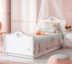 Romantic Ifjúsági ágy #gyerekbútor #bútor #desing #ifjúságibútor #cilekmagyarország #dekoráció #lakberendezés #termék #ágy #gyerekágy #romantic #lány #hercegnő