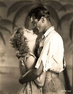 garycooperonly:  Gary Cooper and Esther Ralston - Half a Bride, 1928