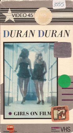 Duran Duran - Girls On Film VHS