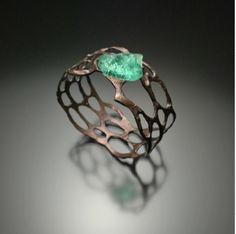 Sea glass bracelet (Joe Anglim jewellery)