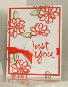 Stampin' Up! Watercolor Words