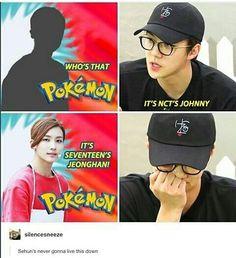 I mean he already mistook Jeonghan for Johnny once already lol