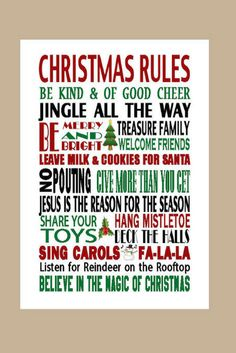 Christmas Wall Art Printable.  Instant Download. #aff