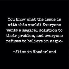 Lewis Carroll Alice wisdom...