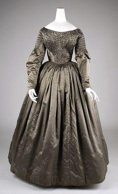 Dress 1840s The Metropolitan Museum of Art