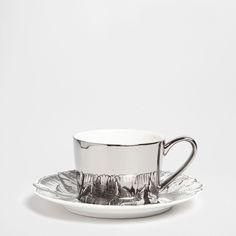TAZA DE TÉ MOTIVOS PLATEADOS - Café y té - Mesa | Zara Home España