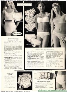 1974 Sears Spring Summer Catalog, Page 395 - Christmas Catalogs & Holiday Wishbooks Vintage Advertisements, Vintage Ads, Christmas Catalogs, Vintage Lingerie, Just The Way, My Eyes, Vintage Fashion, Spring Summer, Bra