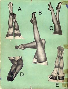 In case you were wondering how to pose for your upcoming pin-up photoshoot. I would go with B...