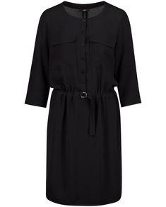 JBC dress in cargo style in black