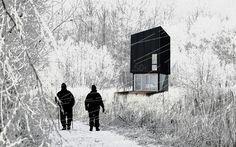 // Pop Up Huts // hughesumbanhowar architects www.huum.com