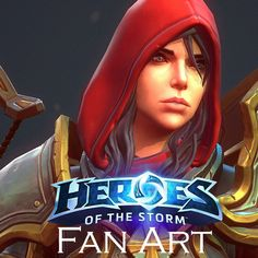 Heroes Of The Storm, Demon Hunter, Design Reference, Game Character, Characters, Fan Art, Artwork, Inspiration, Style