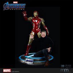 Hier kommt Iron Man LXXXV (Mark 85), der Superheld mit der stärksten und futuristischsten Rüstung, die Tony Stark je erschaffen hat. Iron Man, Life Size Statues, Figure Size, Tony Stark, Marvel Avengers, Iron Men