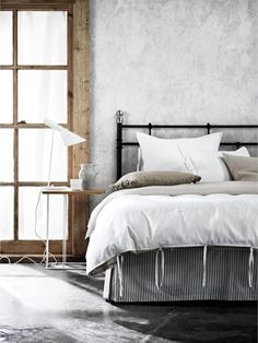 Beautiful bedding: linen sheets to help you sleep sweet: Aura 'Maison' linen cotton blend quilt cover from $149