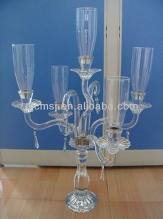 5 Candles Crystal Wedding Decor Candelabra For Party Supplies Bsch041 - Buy Modem Crystal Candle Holder,Elegant K9 Crystl Candle Holders,Glass Candelabra Product on Alibaba.com