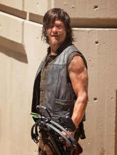 The Reedus: Norman Reedus All Sweaty and Dirty on the set of W...