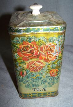 Antique Tea Tin