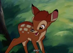 I got: Your spirit animal is Bambi! ! Which Disney Character Is Your Spirit Animal?