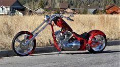 Big Bear Choppers - The Sled Choppers Custom Choppers, Custom Motorcycles, Cars And Motorcycles, Big Bear Choppers, Dream Machine, Sled, Cool Bikes, Bobber, Motor Car