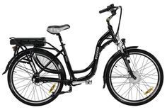 STRADA - The Urban Chainless e-Bike - Motor 250W 8Fun - Battery Panasonic 36V with Power Selector - Brake V-Brake Promax - Cardan Shaft Transmission. Note: Wheels color may vary subject to availability from the manufacturer.