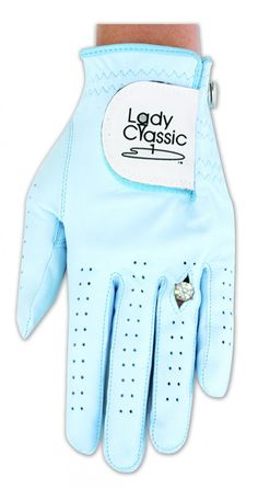 Lady Classic White Ring Golf Glove