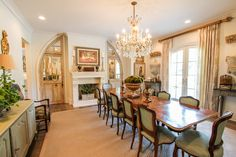 Dining Room Interior Design by Peddler Interiors and Jerome Farris