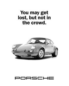 Porsche Poster featuring the photograph Lost In A Porsche by Mark Rogan