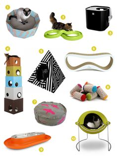 Curbly Shopping Guide: 20 Cool Products for Pets! Crazy Dog Lady, Crazy Cats, Animals For Kids, Animals And Pets, Green Label, Dog Milk, Pet Dogs, Pet Pet, Chihuahua Dogs