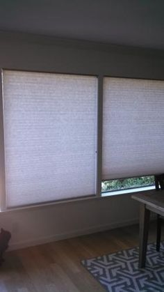 """Our customer said: """"I bought 4 of the double-cell honeycomb shades in the Sand color and could not be more pleased with their look and climate-controlling abilities!"""""""