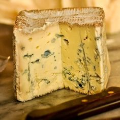 A square Scottish cheese. Blue Monday's creamy, salty and blue. Thanks Alex James for creating such a delicious cheese. Scottish Cheese, British Cheese, Scottish Dishes, Making Cheese, How To Make Cheese, Homemade Cheese, Homemade Soup, Fish And Chip Shop, European Cuisine