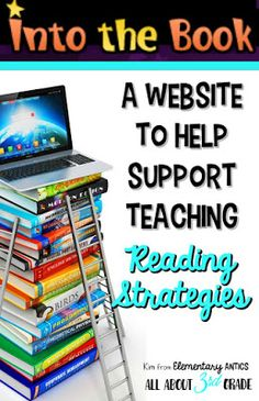 Find out about Into the Book to help support teaching reading strategies and grab a FREEBIE!  Great resources for teachers and students!