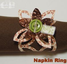 Stampin' Up!  Lattice  Claudia Perry  Napkin Ring