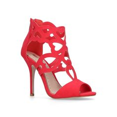 Florence by Miss KG is a caged occasion sandal with a heel. Sandals High Heel Open toe Upper - Synthetic, Lining - Synthetic, Sole - Synthetic Clean with soft dry cloth High Heel Stiletto Heels, High Heels, Miss Kg, House Of Fraser, Peep Toe Shoes, Gift Guide, Open Toe, Shoe Boots, Just For You