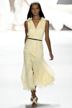 Carolina Herrera Spring 2013 Ready-to-Wear Fashion Show - Jasmine Tookes