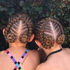 This mother braids her little daughter's hair every morning in incredible ways # fancy Braids for kids # fancy Braids for kids Cute Girls Hairstyles, Everyday Hairstyles, Braided Hairstyles, Sweethearts Hair Design, Different Braids, Natural Hair Styles, Long Hair Styles, Cool Braids, Crazy Braids