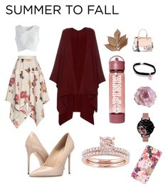 """Summer to Fall"" by black-like-my-soul ❤ liked on Polyvore featuring A.W.A.K.E., Chicwish, The Row, Massimo Matteo, Bliss Studio, Fiorelli, Cynthia Rowley, Olivia Burton and Casetify"