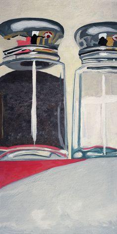 """Confrontation"" from ""Pillars"". Artist Michelle Levine"