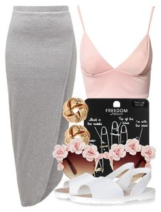 """""""8 4 15"""" by miizz-starburst ❤ liked on Polyvore featuring Dark Pink, French Connection, Topshop, H&M and Gasoline Glamour"""