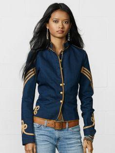 Spencer's military jacket