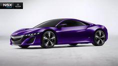 My purple NSX