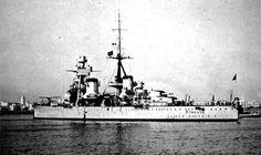 Italian Heavy Cruiser Trento. (yahoo.image)