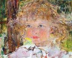Portrait of the daughter Yee (1917).  Nicolai Fechin