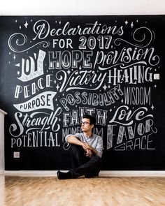 """Check out my @Behance project: """"CHALKWALL LETTERING"""" https://www.behance.net/gallery/60938877/CHALKWALL-LETTERING"""